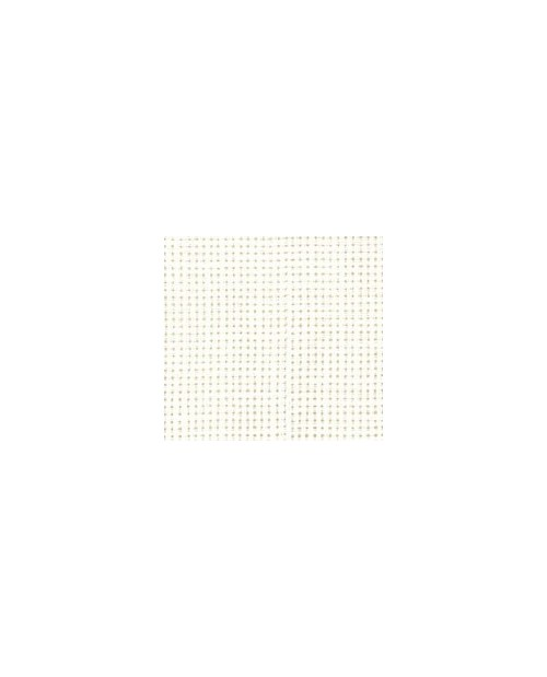 Yvory linen aïda 7 stitches/cm width 160 cm
