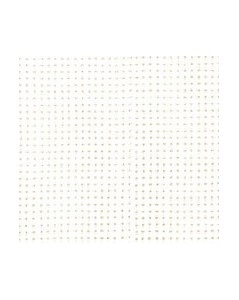 White linen aïda7 stitches/cm  width 160 cm