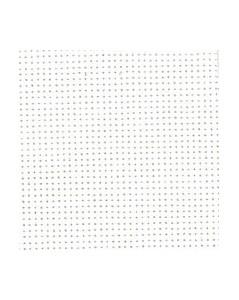 White cotton aïda 8 stitches/cm  width 130 cm