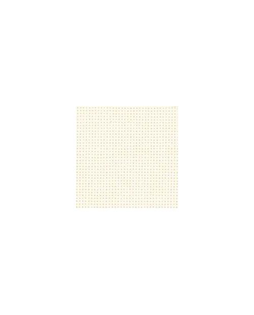 Bleached cotton aïda 8 stitches/cm  width 130 cm