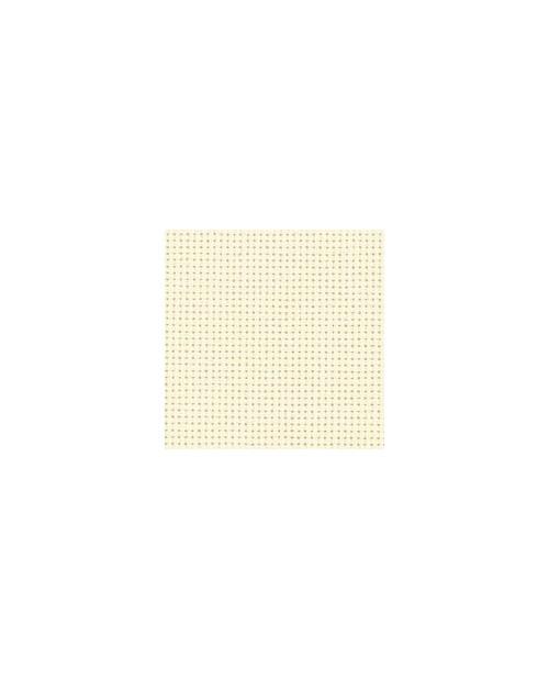 Yvory cotton aïda 8 stitches/cm  width 130 cm