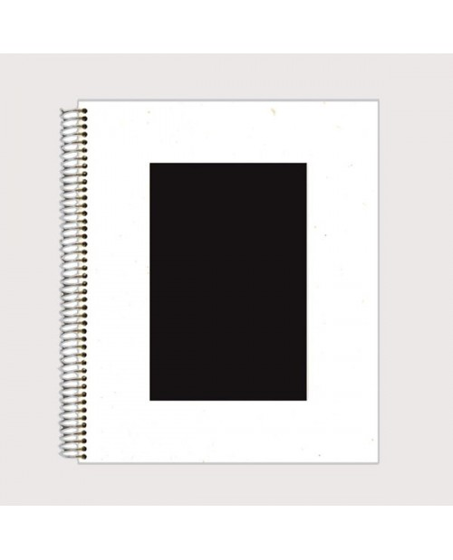 White Album black Page