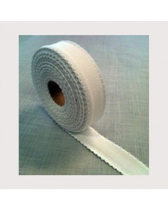Coton aïda emboridery band coloured border width 3 cm