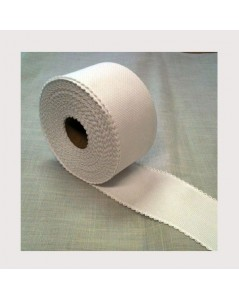 Coton aïda emboridery band coloured border width 7 cm