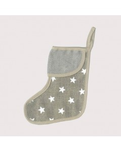 Shoe with white stars small