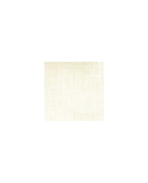 Ivory linen fabric for traditional embroidery 18 threads/cm  width 140 cm