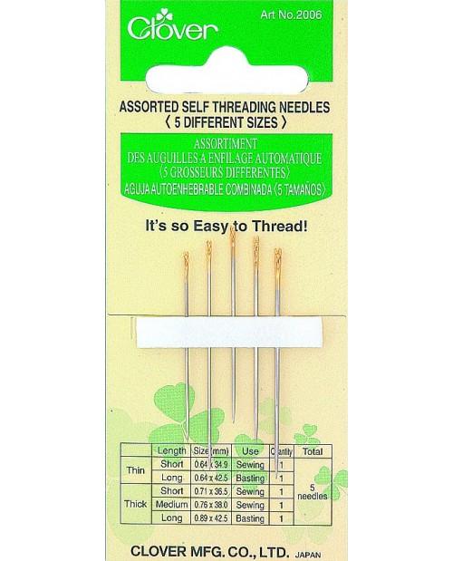 Assorted Self-Threading Needles