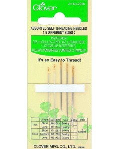 Assorted Self-Threading Needles