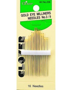 Gold Eye Milliners Needles No. 3-9