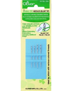 Double Eye Needles (Fine?Blunt Tip)
