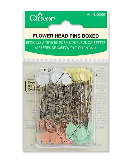 Flower Head Pins (Boxed)