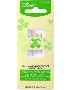 Doll Making Needle Set (Miniature)
