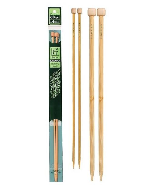 TAKUMI Bamboo Knitting Needles 33 cm