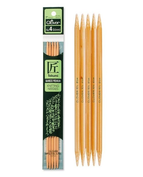 TAKUMI Bamboo Knitting Needles 20 cm