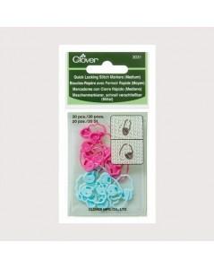 Quick Locking Stitch Markers (Medium)