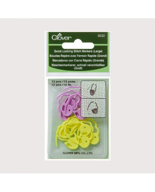 Quick Locking Stitch Markers (Large)