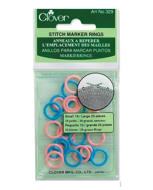 Knitting Accessories Stitch Ring Markers