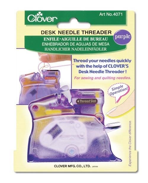 Desk Needle Threader (Violet)