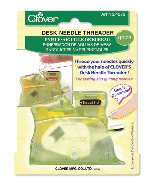 Desk Needle Threader (Green)