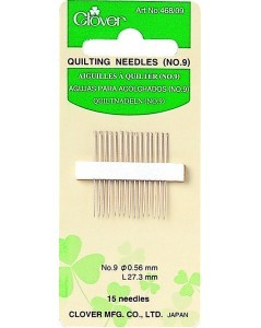 Quilting Needles No. 9