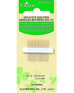 Quilting Needles No. 12