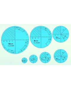 Circular Templates for Drawing Quilting
