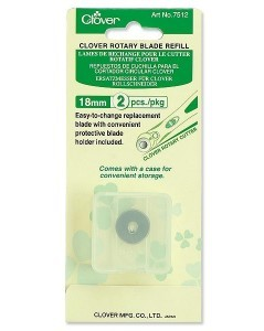 Clover Rotary Blade Refill (18 mm-2 pcs.)