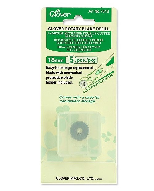 Clover Rotary Blade Refill (18 mm-5 pcs.)