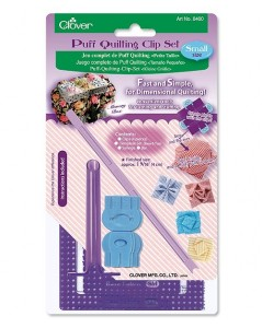 Puff Quilting Clip Set (Small)