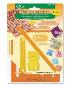 Puff Quilting Clip Set (Large)