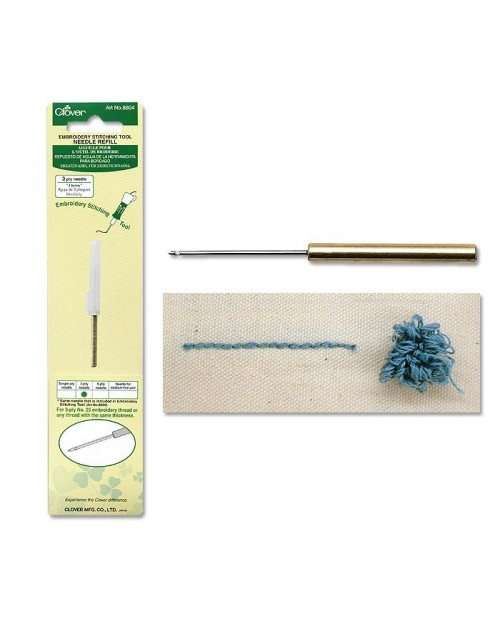 Embroidery Stitching Tool Needle Refill (3-Ply Needle)