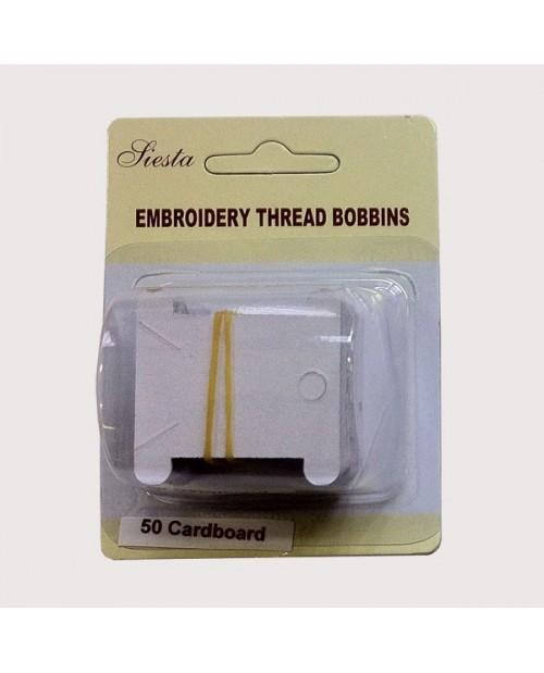 Embroidery thread bobbins