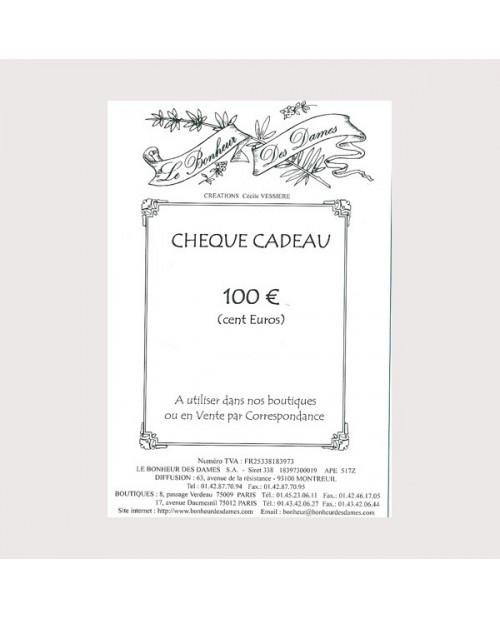 Gift voucher 100 euros