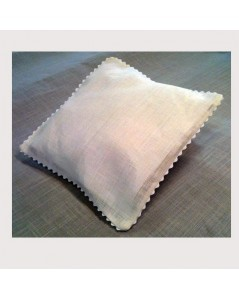 Linen wedding cushion
