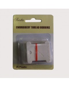 Embroidery thread bobbins