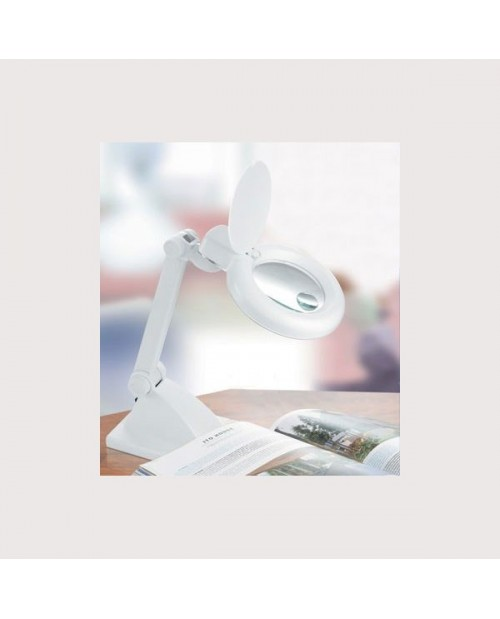 Table magnifying lamp