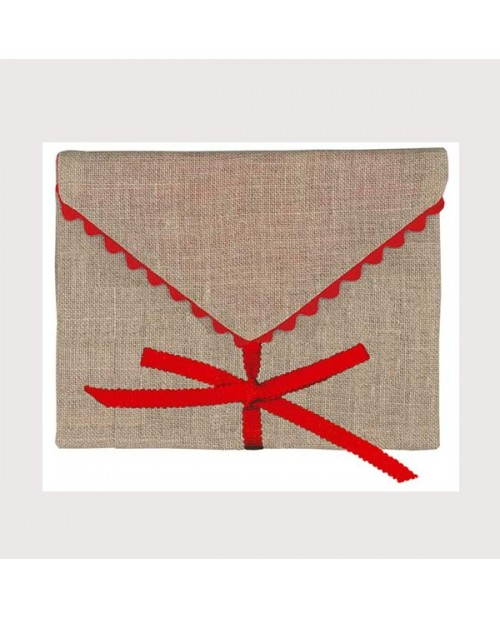 Embroidered envelope (Sawing)