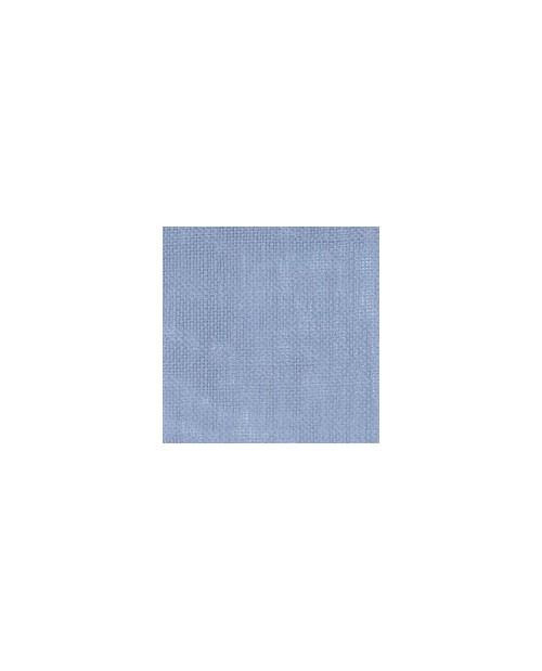 Tissu à broder de lin gris bleu 11 fils/cm. Laize 140 cm. Pour la broderie au point compté
