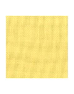 Yellow linen evenweave 12 threads/cm width 140 cm