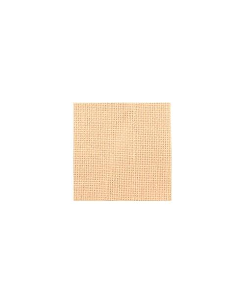 Salmon linen evenweave 12 threads/cm width 140 cm