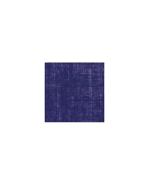 Royal blue linen evenweave 12 threads/cm width 140 cm