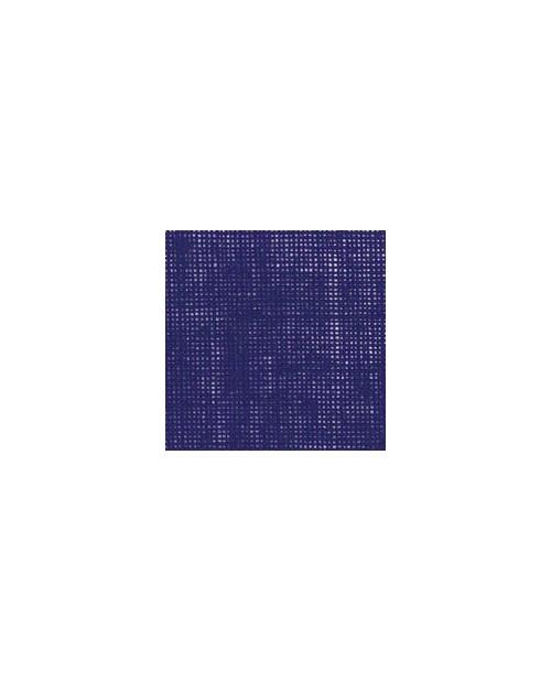 Royal blue linen evenweave 12 threads/cm width 140 cm