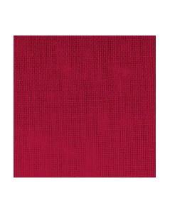 Cherry linen evenweave 12 threads/cm width 140 cm