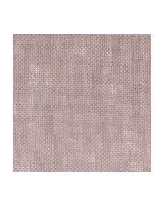 Tissu à broder étamine de lin 12 fils/cm, sépia. Laize 140 cm. Choisissez votre longueur.