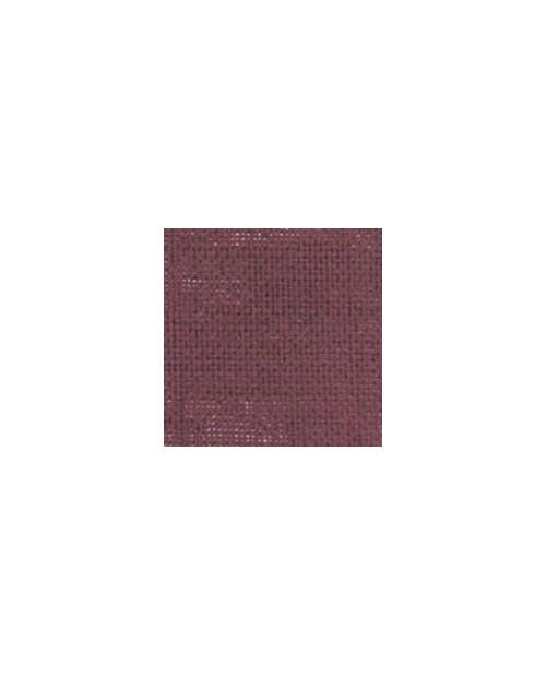 Purplish red linen evenweave 12 threads/cm width 140 cm