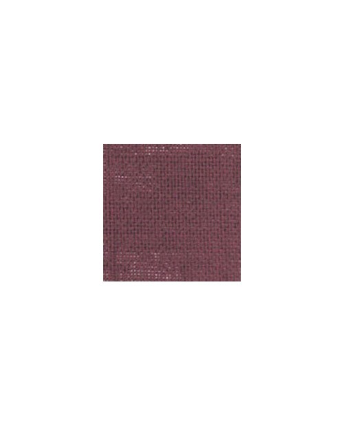Purplish red linen evenweave 12 threads/cm width 140 cm