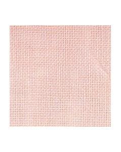 Pink linen evenweave 12 threads/cm width 140 cm