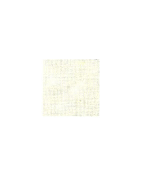 Bleached linen evenweave 16 threads/cm width 140 cm