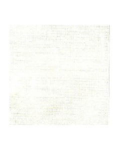 White linen evenweave 16 threads/cm width 140 cm