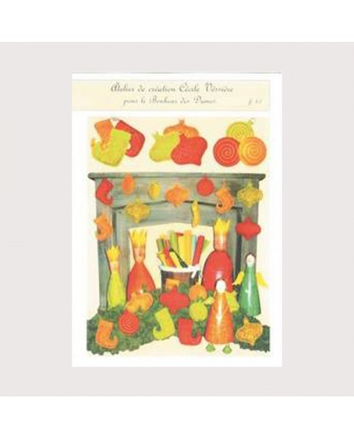 Christmas decoration leaflet (in french)